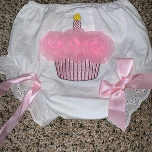 Birthday Cupcake Diaper Cover 🧁